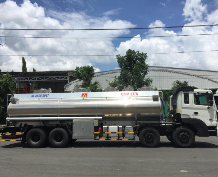 Địa chỉ bán xe xitec chở xăng dầu uy tín chất lượng hiện nay