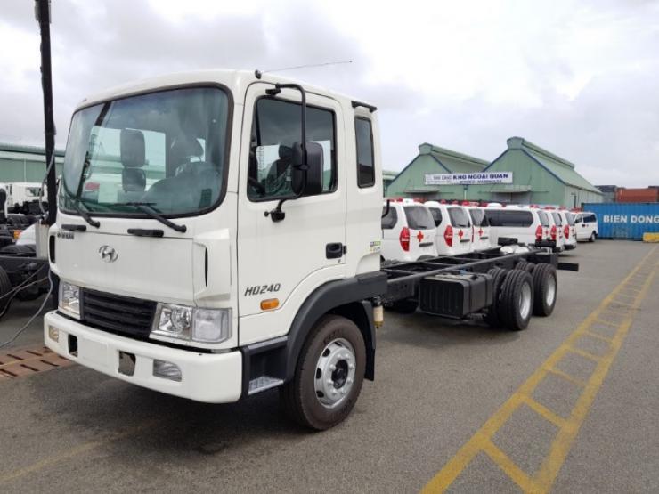 Xe bồn chở xăng dầu 20 khối Hyundai HD240 – Euro4