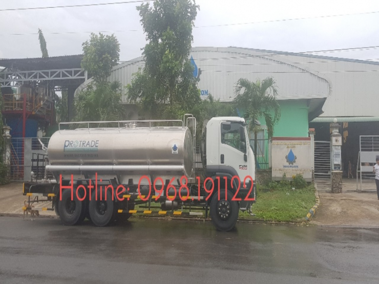 WATER TANK TRUCK 12 M3 ON THE ISUZU FVR