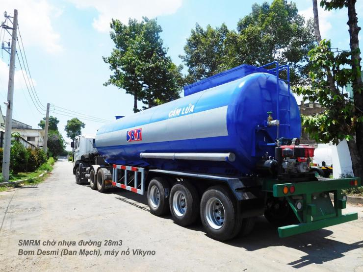 ASPHALT ROAD TRAILERS