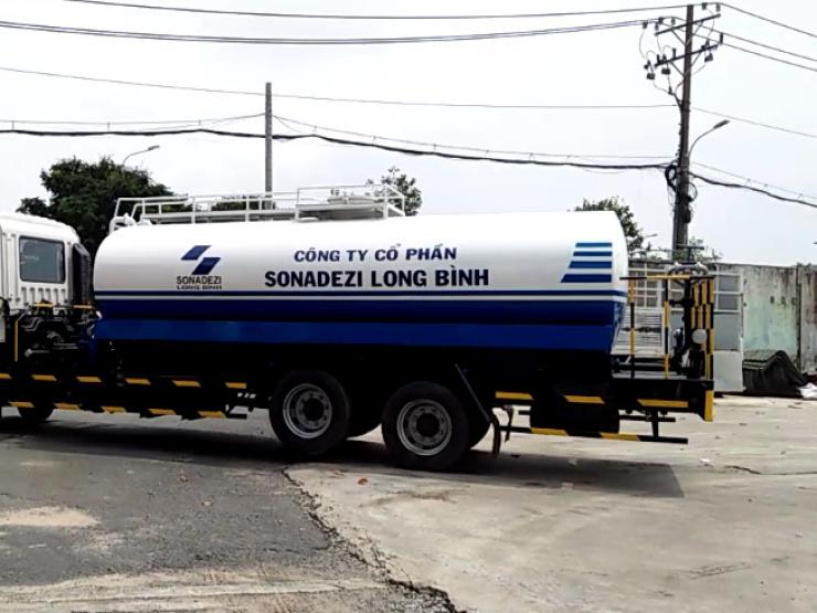 HINO WATER TANK TRUCK